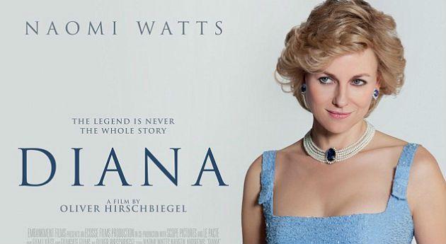 Naomi Watts se convierte en la princesa Diana de Gales // interesante...