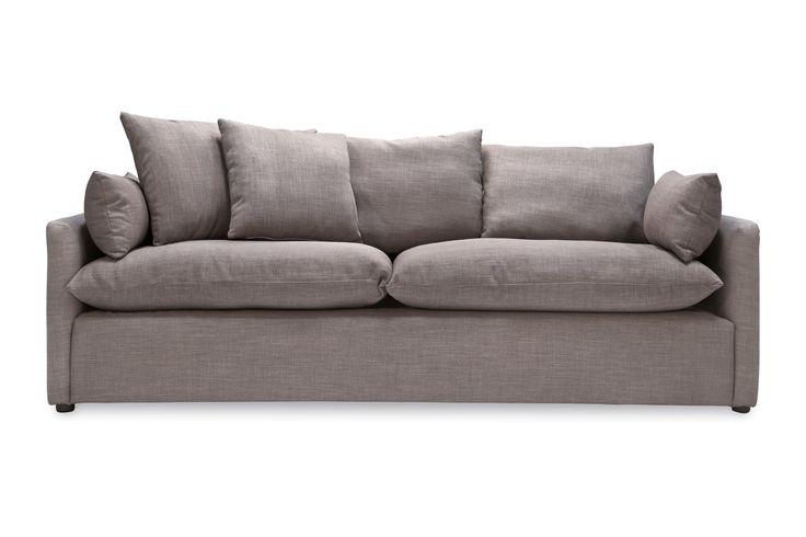 Cameron Sofa, Gray Tweed