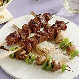 Grilled Steak and Vegetable Kabobs | MyRecipes.com
