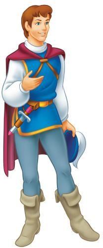 principe-branca-de-neve - Desenhar e Colorir