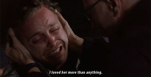 Jesse Pinkman....  This was heart-wrenching !!!!