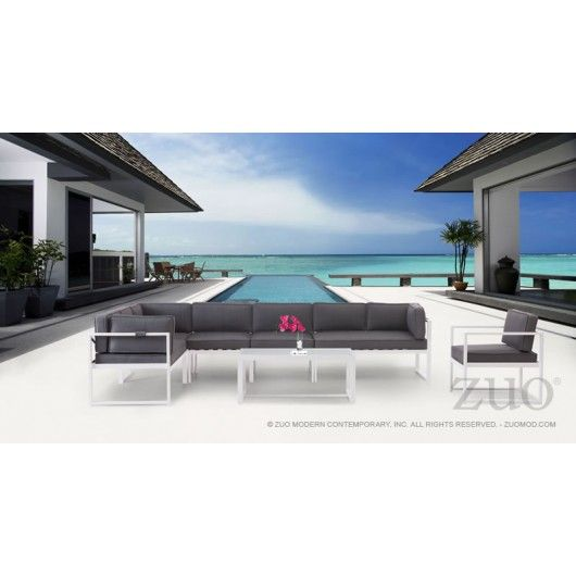 Great Golden Beach Chaise LSF By Zuo Modern 703003 · Patio SetsContemporary  Outdoor FurnitureModern ...