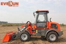 Qingdao Everun ER12 Articulated Mini Wheel Loader Small Tractor For Sale