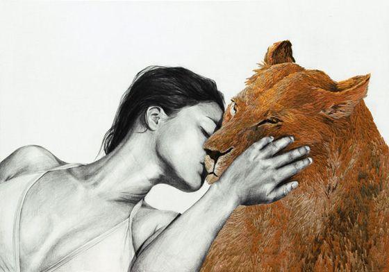 Embroidered art by ANA TERESA BARBOZA