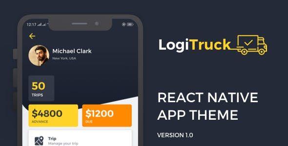 Logitrucks UI/UX provides complete design for the