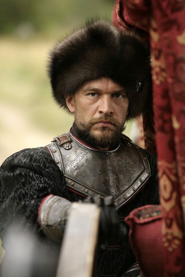 A Polish nobleman from the 16th-17th century. 1612 may be a slanderous anti-Polish propaganda film trying to pass off as a Russian historical movie, but the costumes are fastastic!