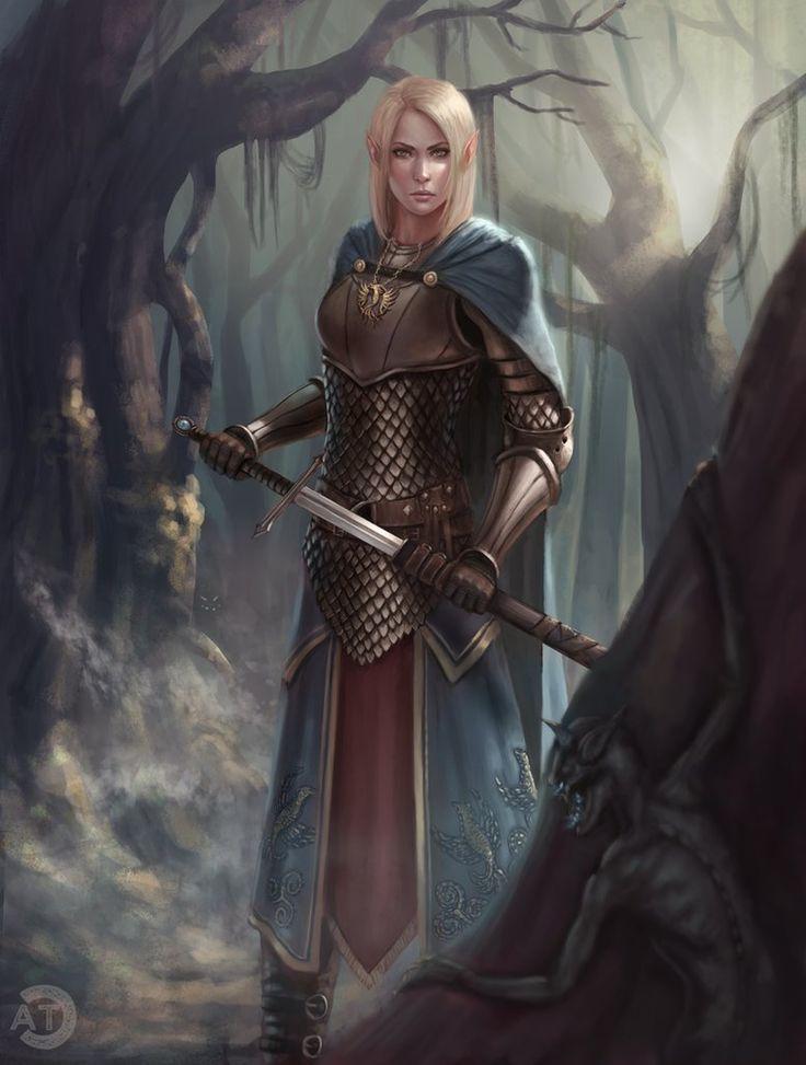 [CM] Silvan Elf Cleric by bearcub.deviantart.com on @DeviantArt - More at https://pinterest.com/supergirlsart #female #fantasy #art