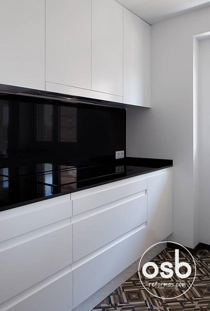 M s de 25 ideas incre bles sobre granito negro en for Encimera cocina granito