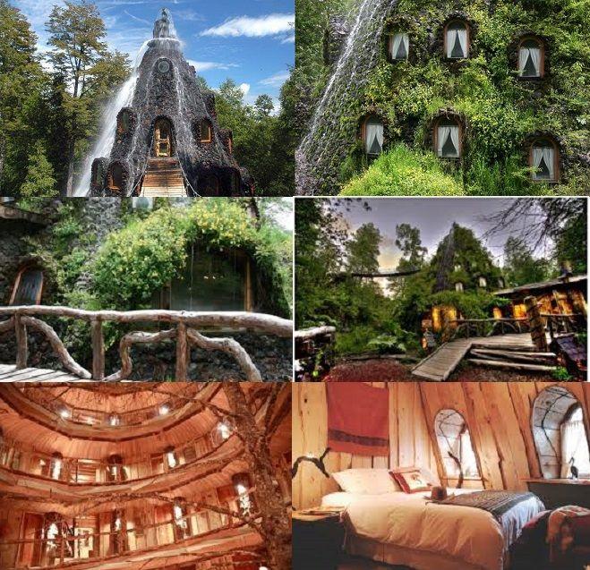 Magic Mountain Lodge, Patagonia, Chile.