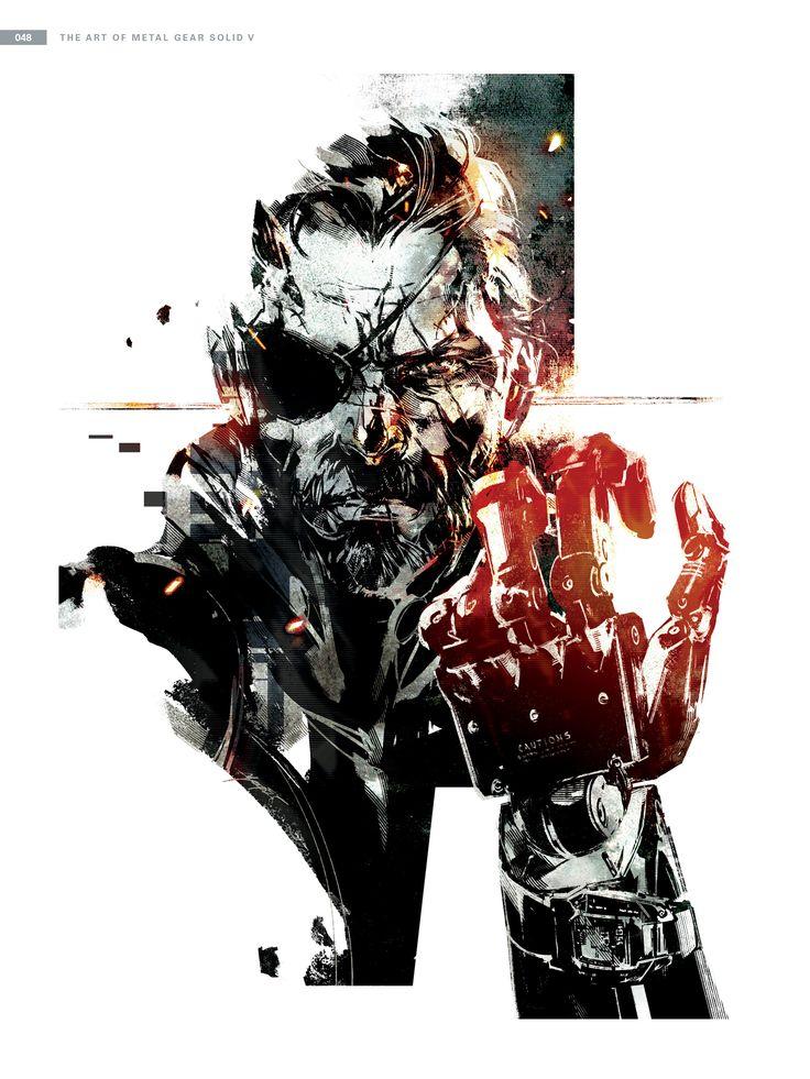 "MGSV: TPP promotional art from ""The Art Of Metal Gear Solid V"" [high res gallery] #MetalGearSolid #mgs #MGSV #MetalGear #Konami #cosplay #PS4 #game #MGSVTPP"