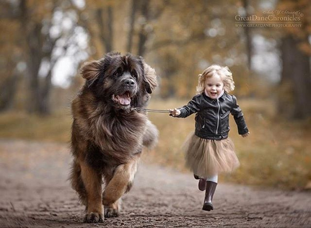Russian Photographer's Enchanting Images Prove That Big Dogs Can Be a Little Kid's Best Friend | Shutterbug