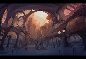 Mirandopolis Int. Airport by ~gizmodus on deviantART