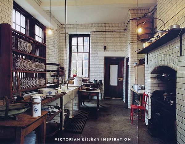 57 best images about victorian kitchen on pinterest for Modern victorian kitchen design