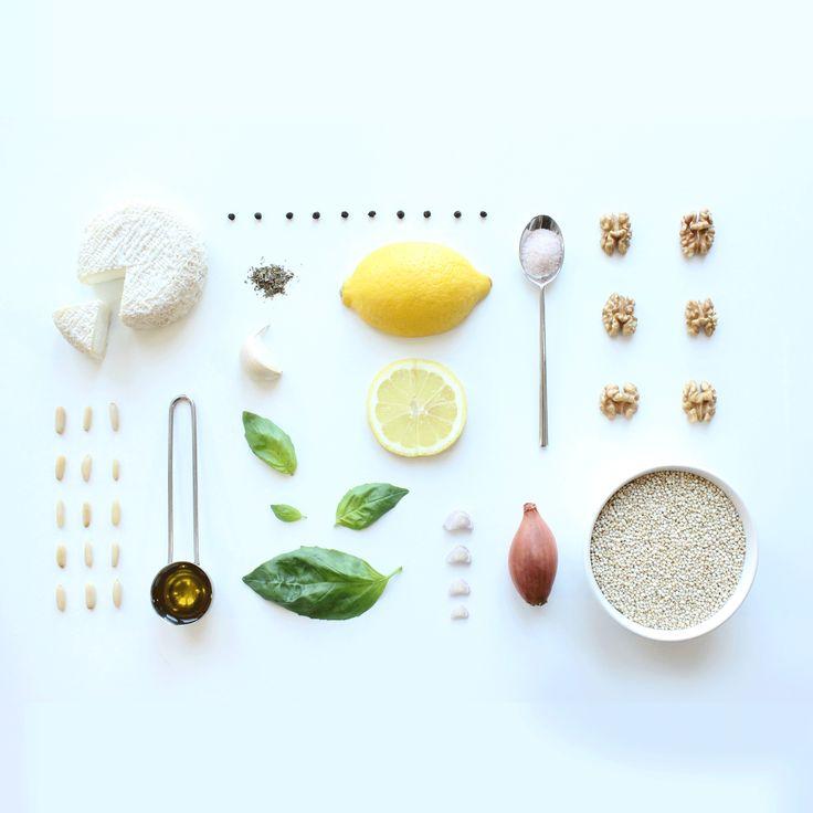 Faire une pizza light au quinoa avec ces ingrédients  Photo by Clémence Dubois