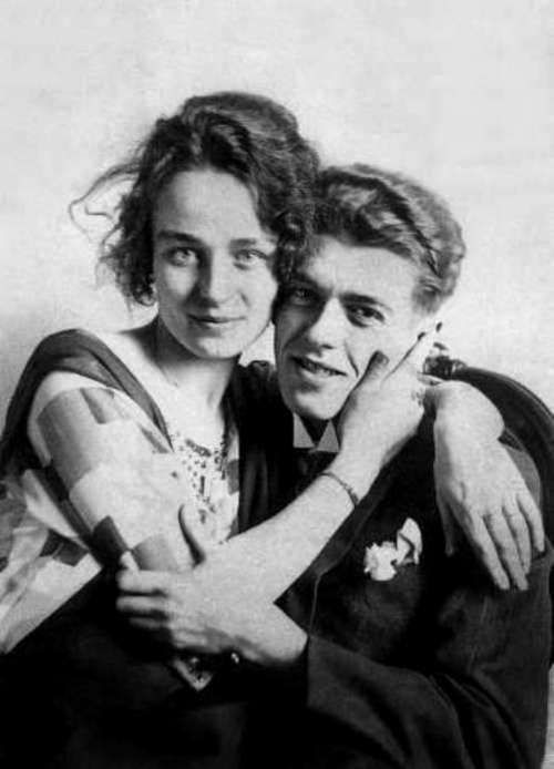 René Magritte and his wife Georgette Berger, c.1922