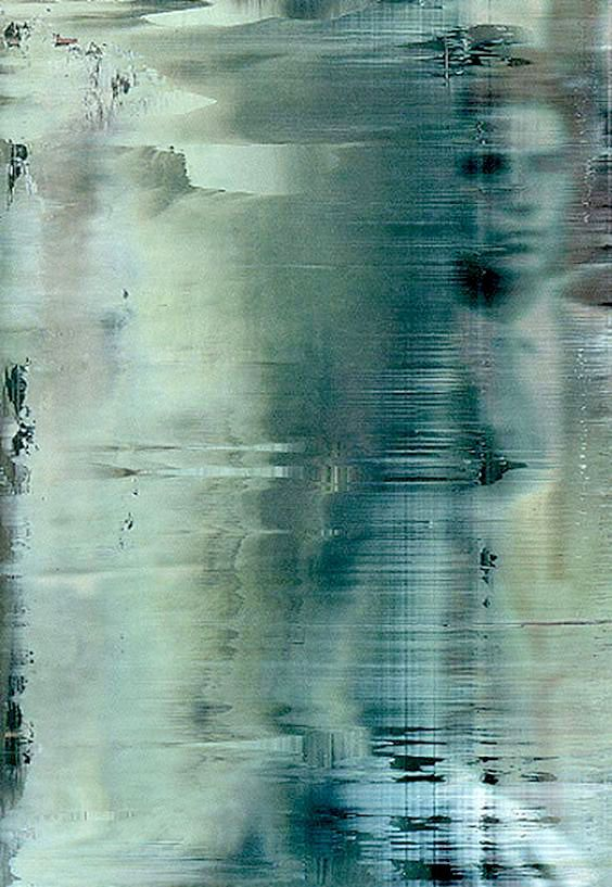 Gerhard Richter, Overpainted photograph