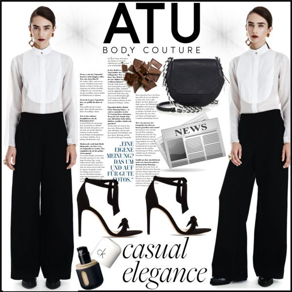 ATU BODY COUTURE by gaby-mil on Polyvore featuring Alexandre Birman, rag & bone, pants and atubodycouture