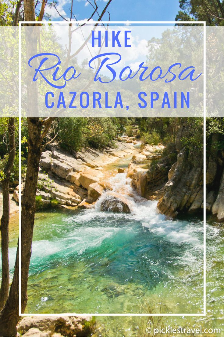 Rio Borosa, Cazorla, Spain in rural Jaen may be one of the most beautiful places to hike in Europe that you've never heard of. Definitely add this one to your bucket list. Click for more details!