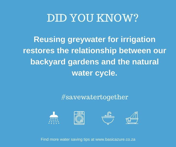 With level 4 water restrictions being implemented and our beautiful province being declared a disaster area, it's no surprise our vocal community of #watersavingwarriors are eager to know more about greywater and how to safely re-use it. Did you know? Reusing greywater for irrigation restores the relationship between our backyard gardens and the natural water …