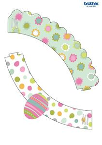 Easter Cupcake Wrapper 4