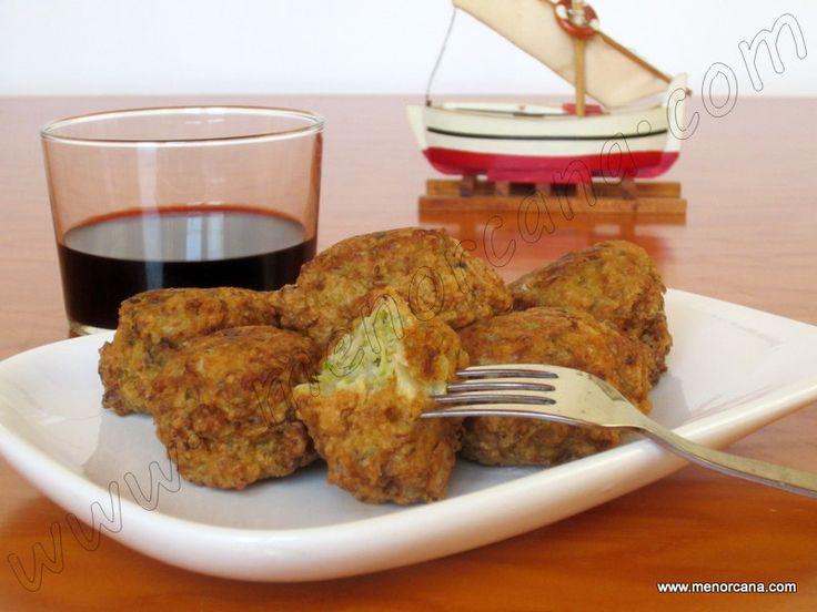 Croquetas de escarola - Cocina de Menorca