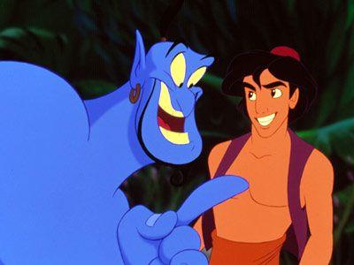 Aladdin & Genie, AladdinDisney Classic, Aladdin Genie, Disney Animal, 1992, Disney Aladdin, Robin Williams, Things, Genie Aladdin, Disney Movie