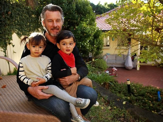 Barry Du Bois says he's the luckiest guy on earth. Picture: Sam Ruttyn