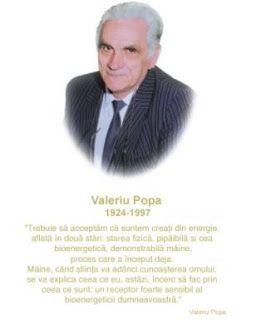 Sanatate cu pofta de viata: Valeriu Popa si vindecarea sufletului