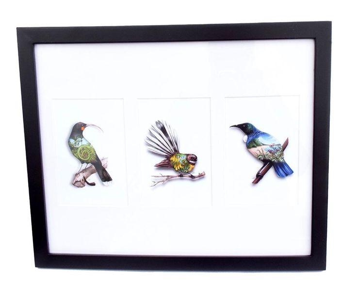 Sophie+Blokker+NZ+Birds+Art+Print