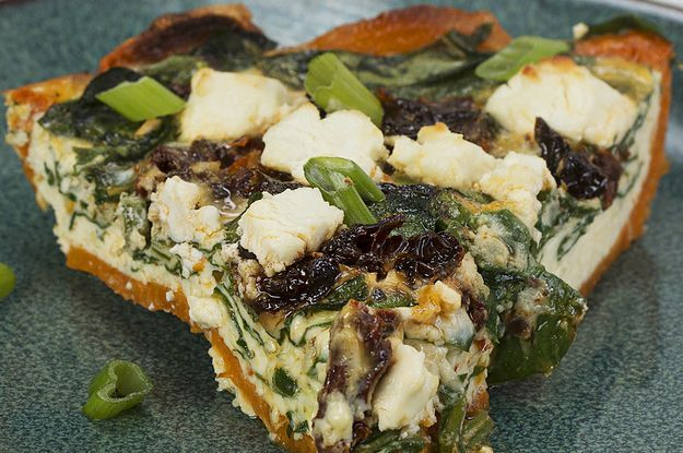 Breakfast Just Got Better With This Sweet Potato Crust Quiche