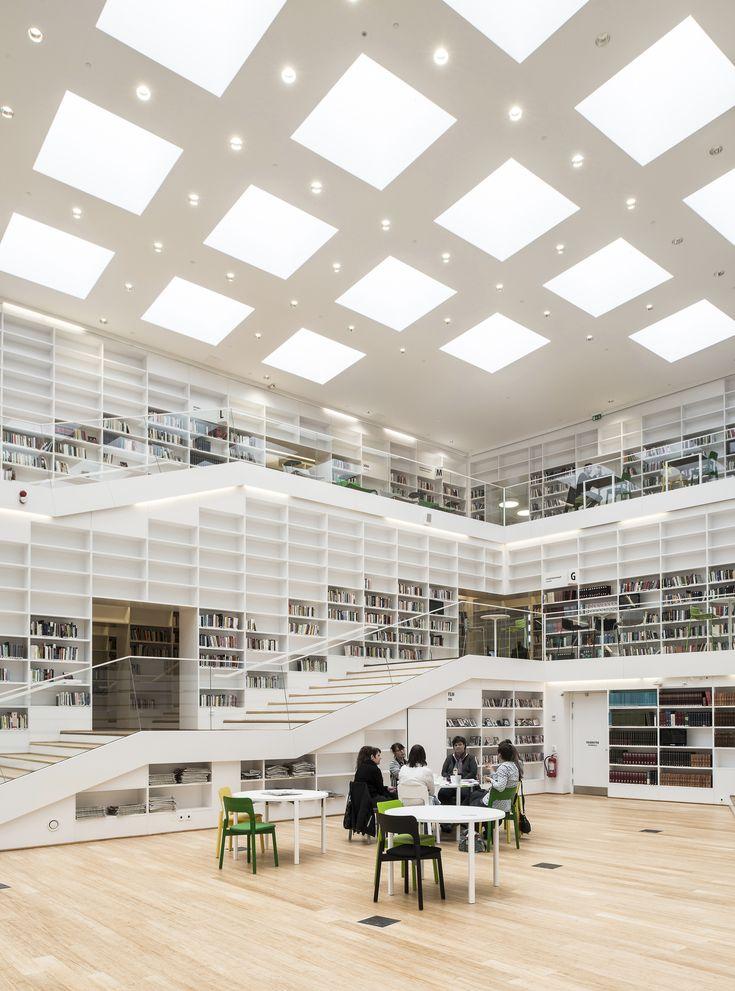Biblioteca e Mediateca Dalarna,© Wilhelm Rejnus & Linus Flodin