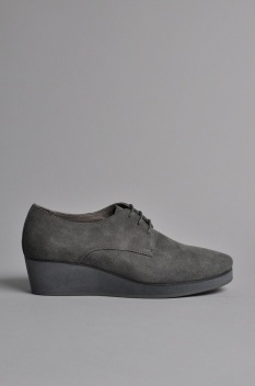 The Horse Louise Shoes Grey Suede