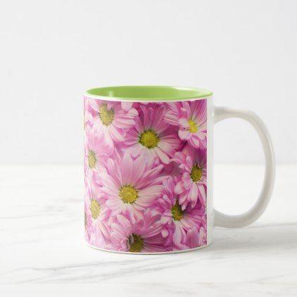 Coffee Mug - Pink Gerbera Daisies - decor gifts diy home & living cyo giftidea