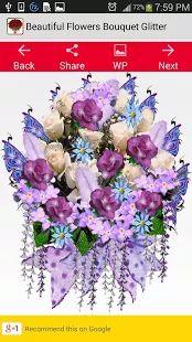 Красивые цветы Букет Блеск– уменьшенный скриншот