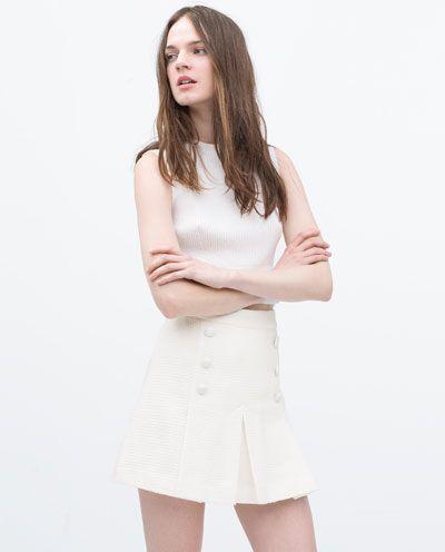 Pleated Mini Skirt from Zara R599,00