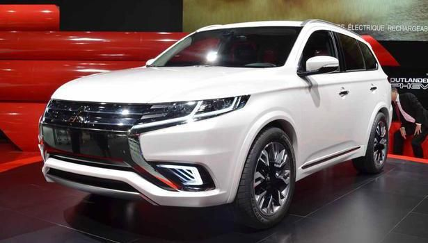 2016 Mitsubishi Outlander - exterior design