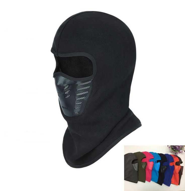 Winter Warm Hat Motorcycle Windproof Face Mask Hat Neck Helmet Beanies For Men Women Sports Bicycle Thermal Fleece Balaclava Hat