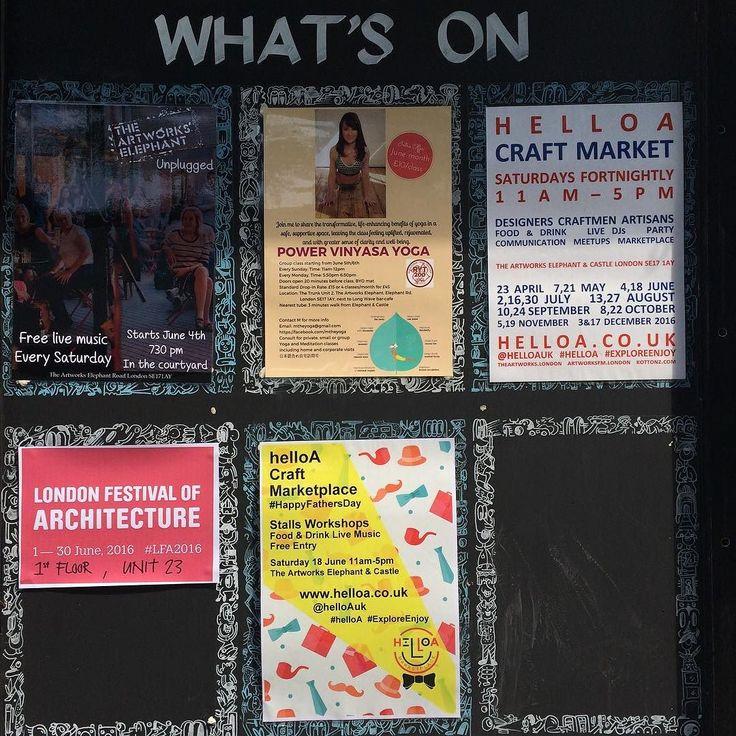 #helloA #craft #marketplace on next Saturday 18th June theme #HappyFathersDay poster is on #ExploreEnjoy