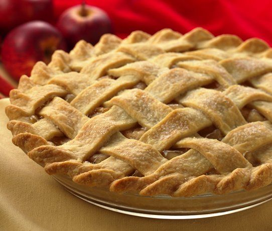 Fresh Apple Pie, so easy and so so good! I make this with honeycrisp and the flavor is amazing! The apples turn out so perfect!