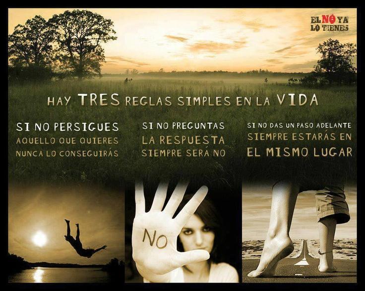 #frases Reglas para ser feliz - felicidad - filosofía de vida