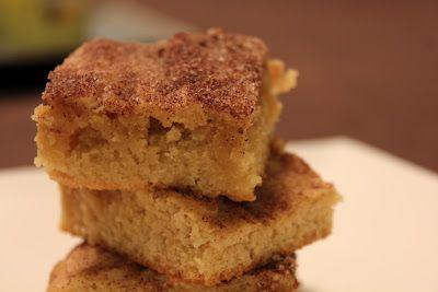 Zählung meiner Cupcakes: Dicke und zähe Snickerdoodle-Riegel