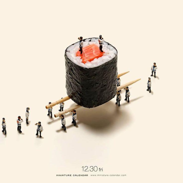 Everyday Miniature life | Miniatur, Digitale kunst und ...