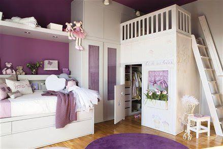 blog o wnętrzach dla dzieci, inspiracje : Lawendowy pokój dla dziewczynki.