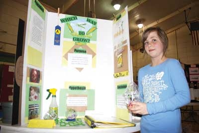 list of agriculturally related science fair project or classroom experiment ideas..