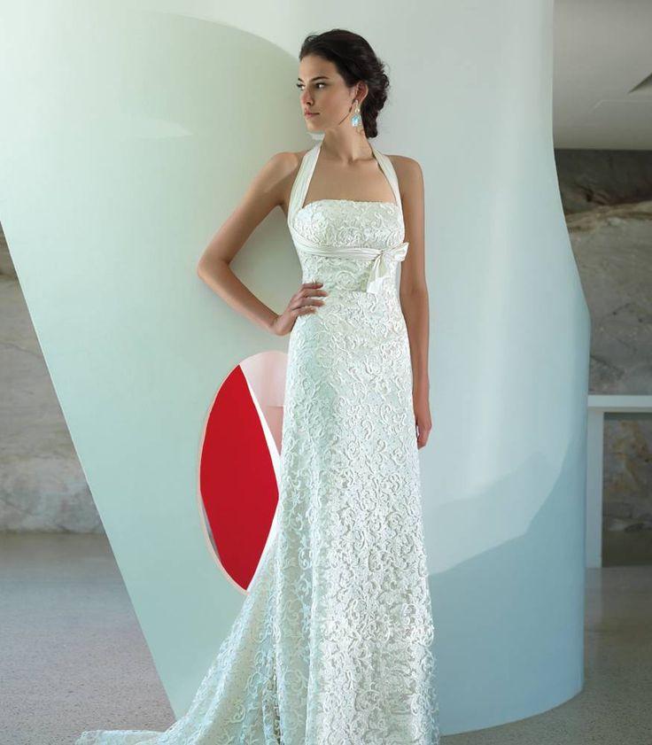 Abito da sposa impero pizzo macrame - abito da sposa Putignano - Valentini Spose - Egò spose, abiti da sposa lecce, abiti da sposa puglia
