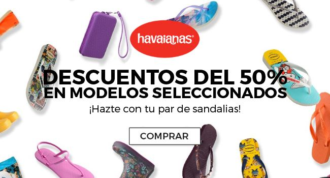 DESCUENTOS DEL 50% EN MODELOS SELECCIONADOS - ¡Hazte con tu par de sandalias!
