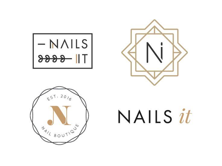 Nail Salon logo drafts                                                       …