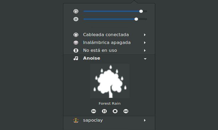 Ruido ambiental (ANoise) para Ubuntu 16.04 y superiores - https://ubunlog.com/ruido-ambiental-anoise-ubuntu/
