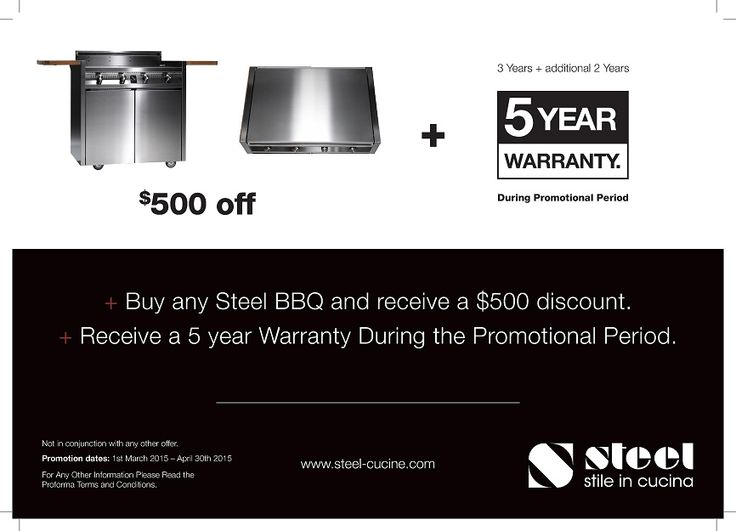 BBQ's - SAVE $500* - OFFER EXTENDED - MUST END 30th JUNE 2015 - we deliver AUSTRALIA WIDE!