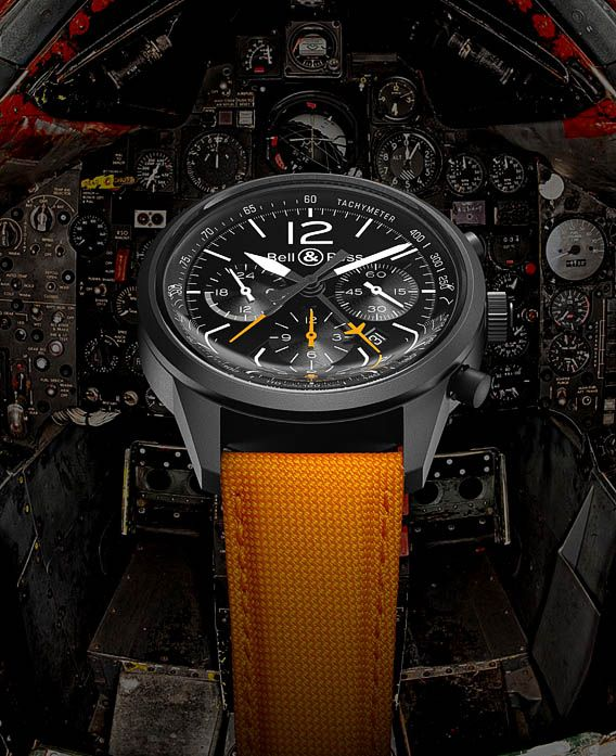 La Cote des Montres : La montre Bell & Ross BR 126 Flyback - Hommage à un avion mythique